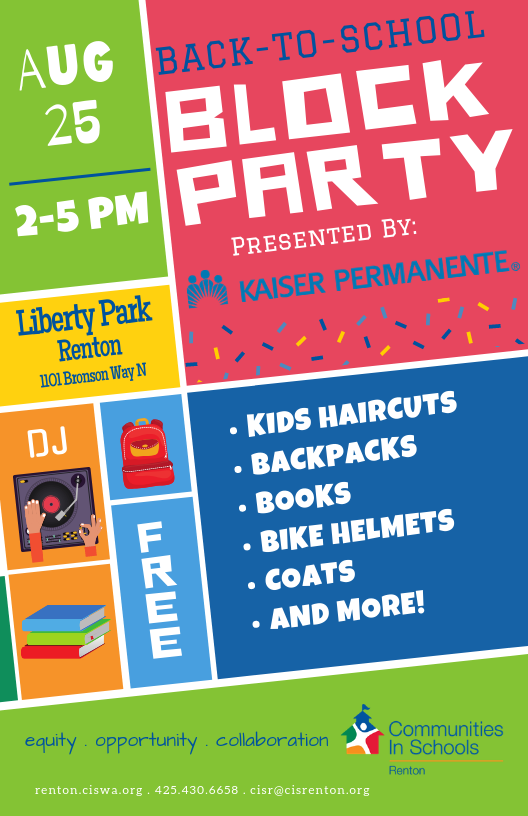 Back to School Block Party